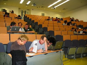 An image of the participants to the Prolog programming competition