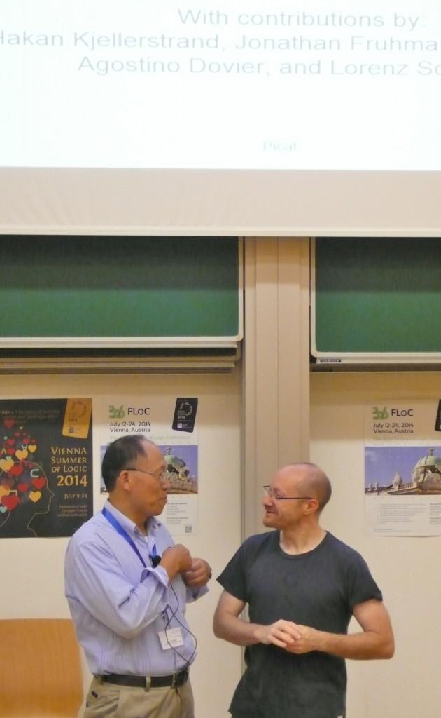 Neng-Fa Zhou introduced by Manuel Carro